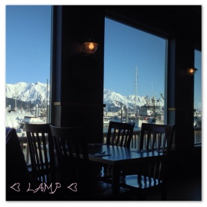 View from Chinooks Downstairs Dining Room